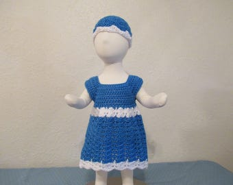 Adorable Baby Dress with Hat