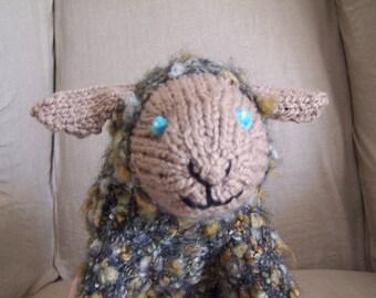 Baa Shee-Poof Sheep Pattern