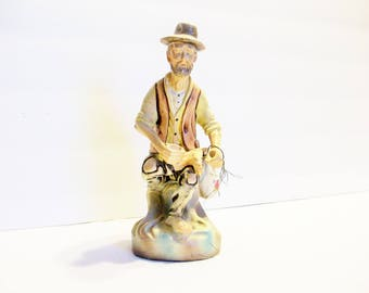 1973 Figurine Hobo with a Nail in the Foot    Made in Portugal  bx8  198667746