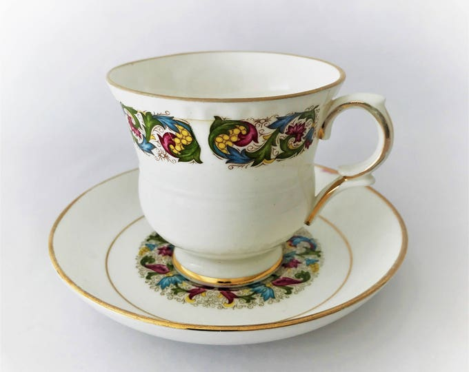 Royal Suttherland Cup and saucer-fine English porcelain