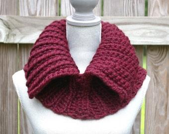 INSTANT DOWNLOAD Crochet Pattern PDF Split Cowl