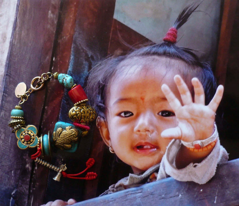 Tibetan Ethnic Bracelet Yoga Meditation Bracelet