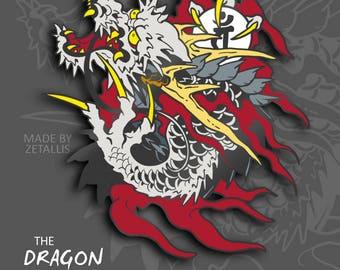 YK Dragon of Dojima [Enamel Pin]