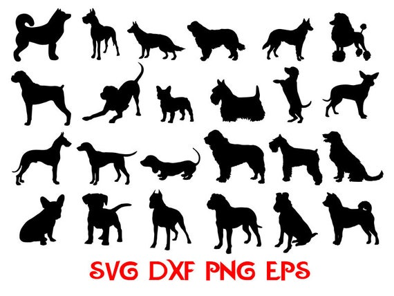 Download Dogs Svg animals svg cricut dog Dog Breed SVG Silhouette
