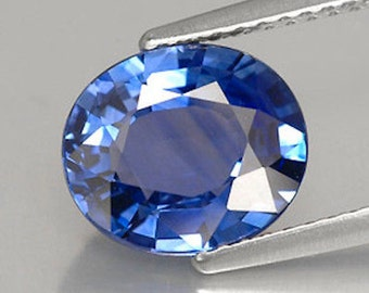 sapphire light genuine blue ring