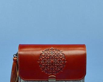 crossbody bag, leather crossbody bag, Wool Felt Bag, purse, crossbody bags, leather bag, crossbody, small crossbody bag, purses and bags