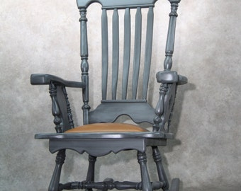 "Rocking chair, ""Provincial"" line."