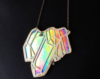Holographic Crystal Necklace