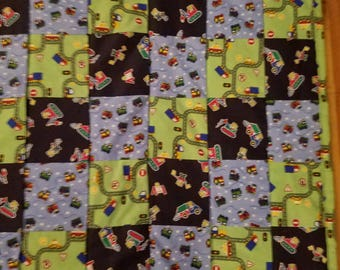 On the go Transportation quilt