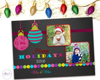 Christmas Photo Cards, Holiday Photo Cards, Happy Holiday Cards, Personalized Christmas Cards, Christmas Greeting Cards, Happy Holidays