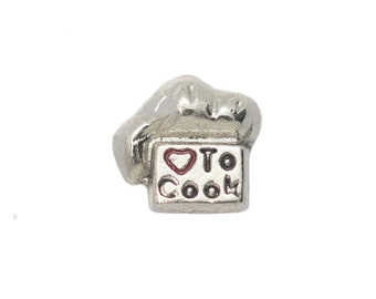 Love to Cook Floating Charm