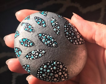 Tree of Life - Hand Painted Rock