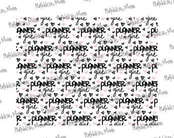 Planner Girl Printable Paper