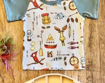 Great Outdoors Raglan T Shirt