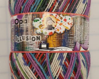 Opal Yarn - Illusion - color #9310