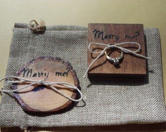 Proposal keepsake/ Wood proposal cookie/ Marry me/ Proposal