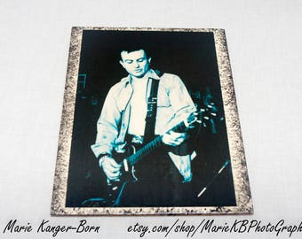 1980s Punk Rock Band Fear - Photo Transfer To Wood - Decorative Wall Art