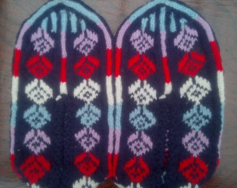 Handmade Crochet Indoor Slippers