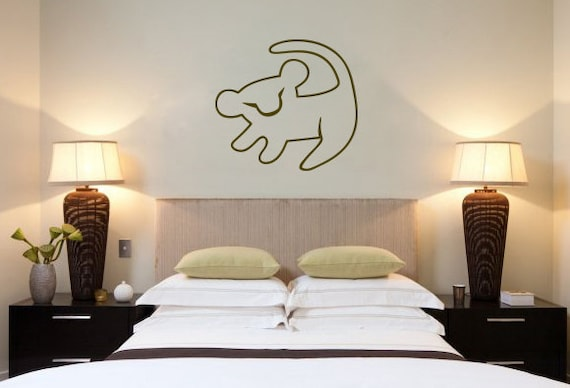 Perfect Lion King Wall Decal: Disney Vinyl Sticker