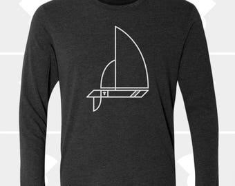 Sailboat - Unisex Long Sleeve T Shirt