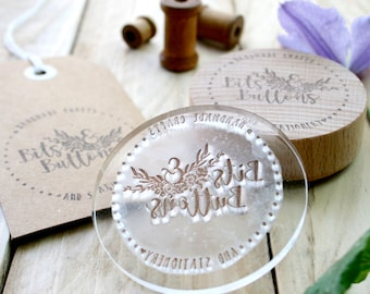 Custom Stamp - Made to Order Stamp - Custom Order Stamp - ANY SIZE - Custom Stamps - Logo Design - Gift For Him - Gift For Her - Clear Stamp