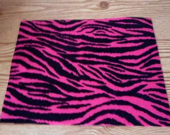 Barbie Pink Zebra Rug