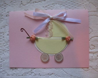 New Baby Buggy Card
