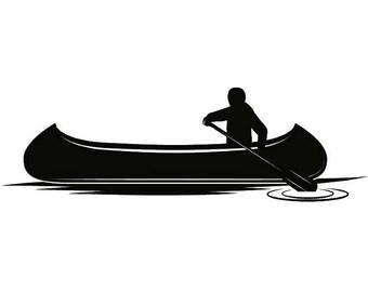 Kayak 4 Kayaking Canoe Canoeing Rafting Water Sport Paddle Paddling Ore Row Rowing SVG
