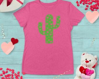 Cactus Love Valentine's Day T-shirt