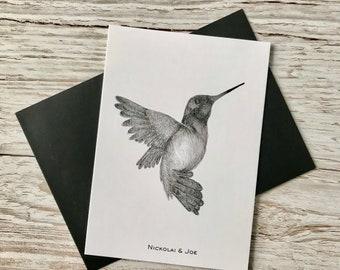 Hummingbird Notecard / Postcard