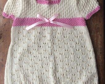 Amy Lace Dress Knitting Pattern