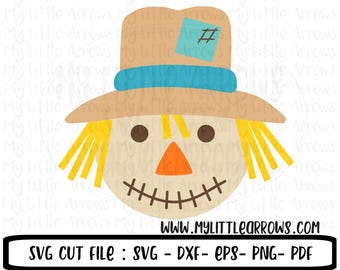 Scarecrow SVG | boy scarecrow svg | halloween svg | SVG | thanksgiving svg | Fall Svg | Digital Download | clip art | commercial use