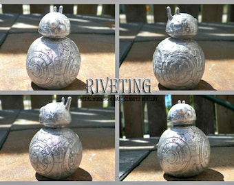 BB8 Hand cast pewter statuette