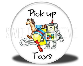 Pick Up Toys - Chore Magnet