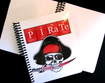 Pirate Journal Notebook ElementeesTM for the nerd in you