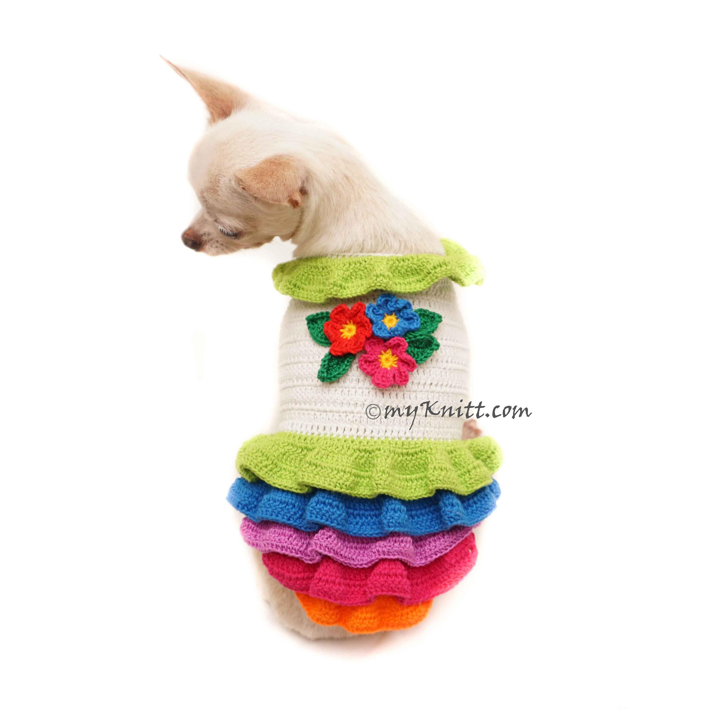 Ausgezeichnet Häkeln Hundekleid Muster Zeitgenössisch - Strickmuster ...
