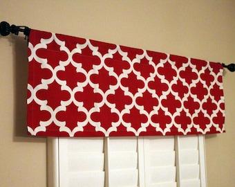 Kitchen Valance Curtains Red Window Valance Kitchen Window