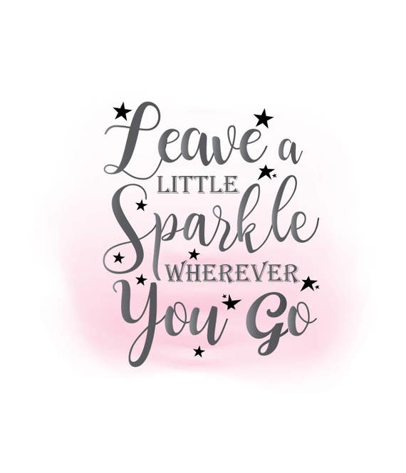 leave sparkle svg clipart inspirational quote word art rh etsy com inspirational clipart saying inspirational clip art pictures