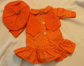 "3 Pc. Outfit for American Girl or 18"" doll"