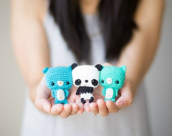 Bonbon Bears Crochet Pattern