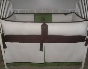 Pick Your Colors Baby CRIB SET NEUTRAL