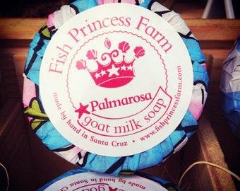 Palmarosa Goat Milk Soap Bar