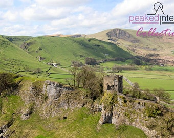 Peveril Castle, Winnats Pass and Mam Tor, Catleton