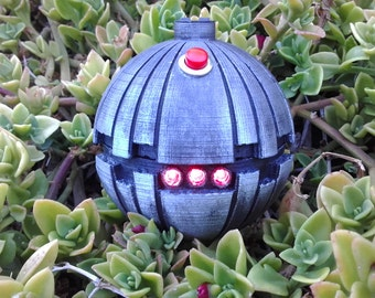 Thermal Detonator with LED's, Working Button & HD Detailing