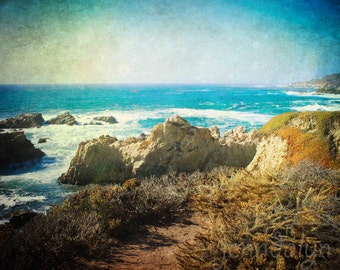 big sur print - california wall art - pacific ocean landscape photography - california print