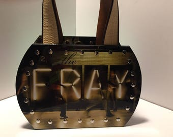 The Fray vinyl record purse