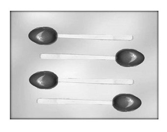 Chocolate Spoon Mold - Baking Candy Making Party Supplies