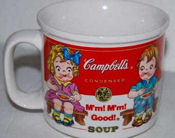 Vintage Campbell's Soup M'm M'm Good Mug Cup
