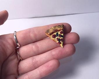 Miniature Pizza Slice