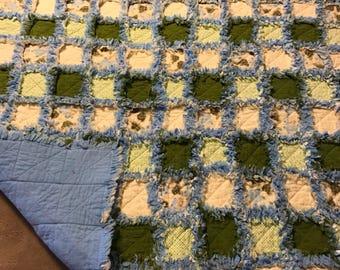 Stroller rag quilt